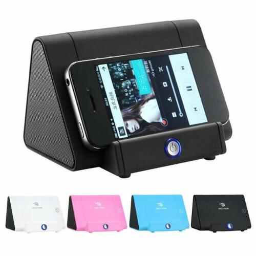 portable car wireless speaker mobile phone induction