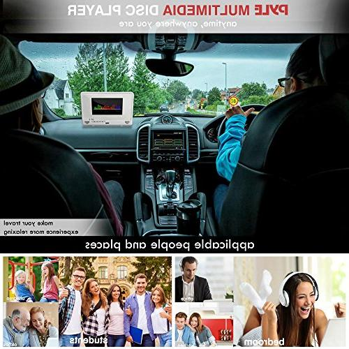 """Pyle 10.1"""" Player IP67 with TFT Screen USB/SD Readers 