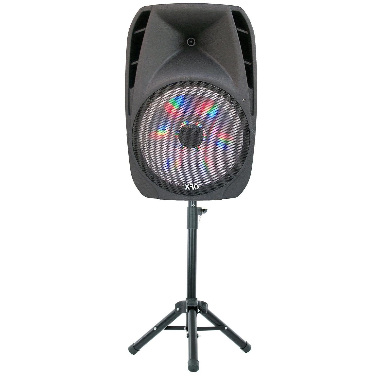 Portable Speaker Bluetooth Party 15 Inch