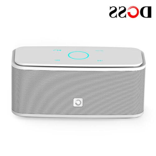 DOSS - Portable Touch Wireless Bluetooth Stereo Music Speaker Player