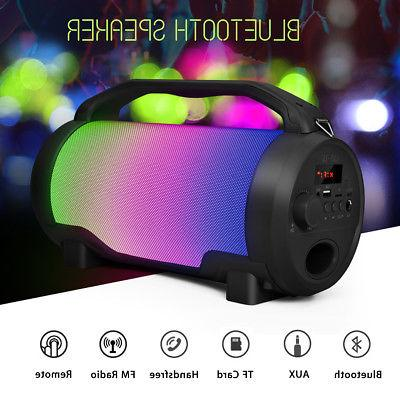 Portable Super Bass Loud LED bluetooth Outdoor Subwoofer