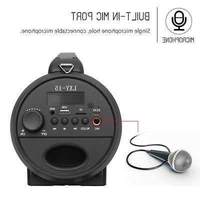 Portable Super Bass LED Wireless Outdoor Stereo
