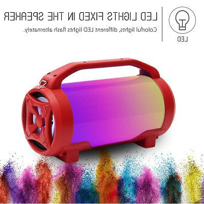 Portable Super Bass LED Wireless Outdoor Subwoofer Stereo