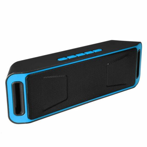 Rechargeable Wireless Bluetooth Speaker Portable with FM Rad