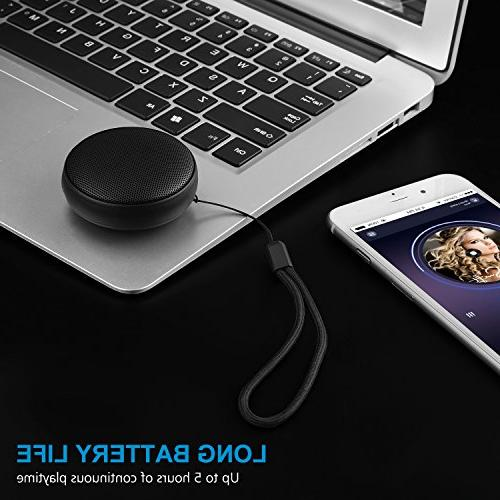 Portable Wireless Color 4.2 Speaker 3W-Driver,5 Playtime, Mic Sports, and