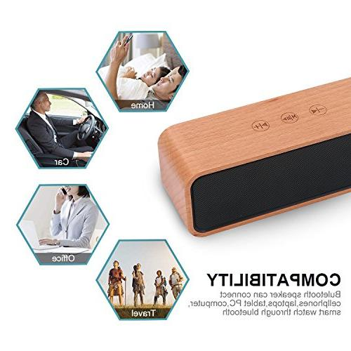Portable Bluetooth Wood Touch with Compatible with