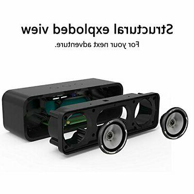 Portable Wireless Bluetooth 4.2 Retro Wood