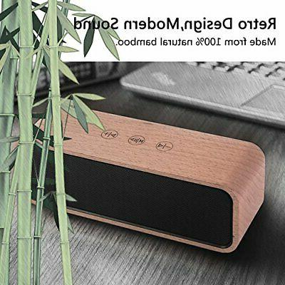 Portable Wireless VIVI Bluetooth Wood Home