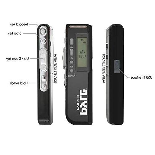 Digital Device - Voice Activated Built-in Flash Speaker, Microphone & for Class Meeting PVR200