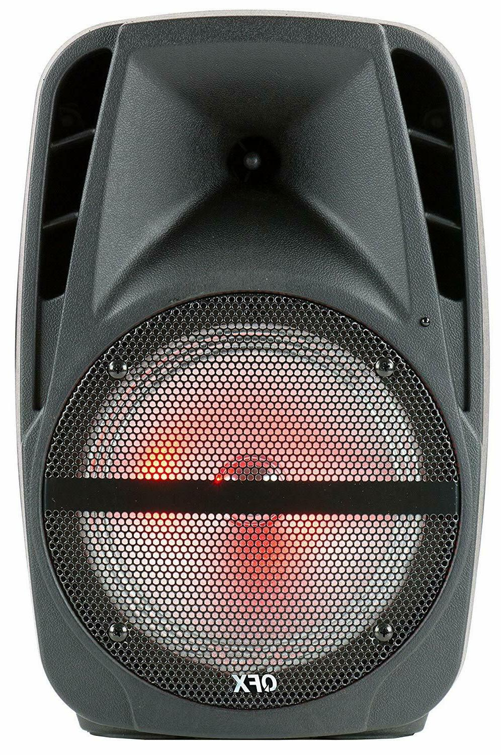QFX PBX-61161 Party Speaker Wireless Microphone &