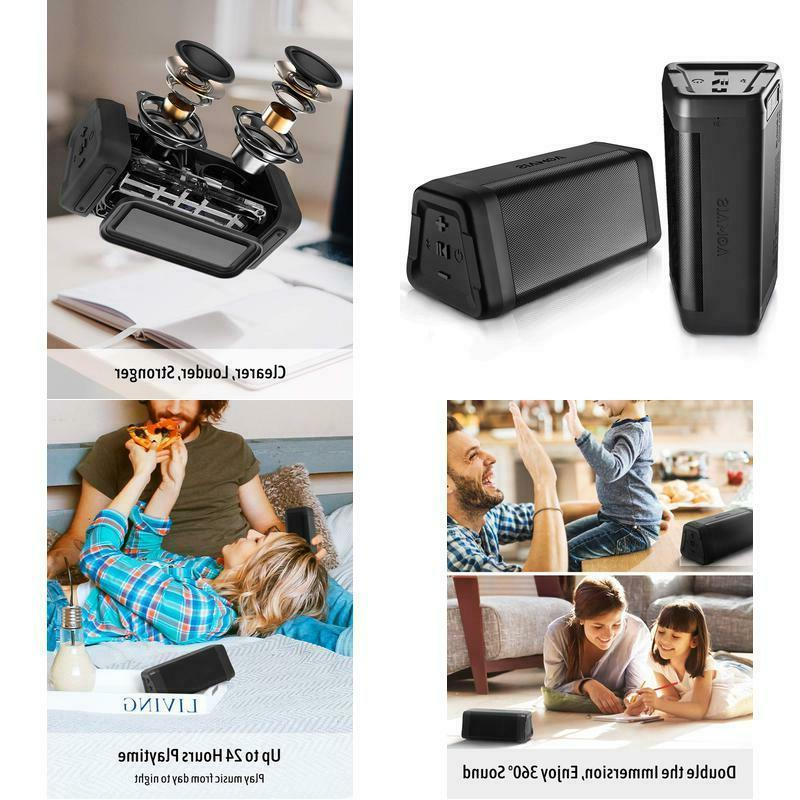 real sound bluetooth speakers 2 pack true