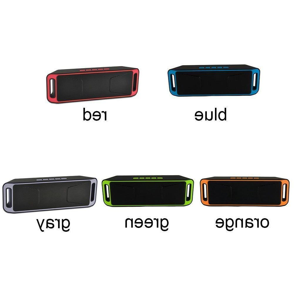 Recharegable Bluetooth Speaker Portable Outdoor Stereo