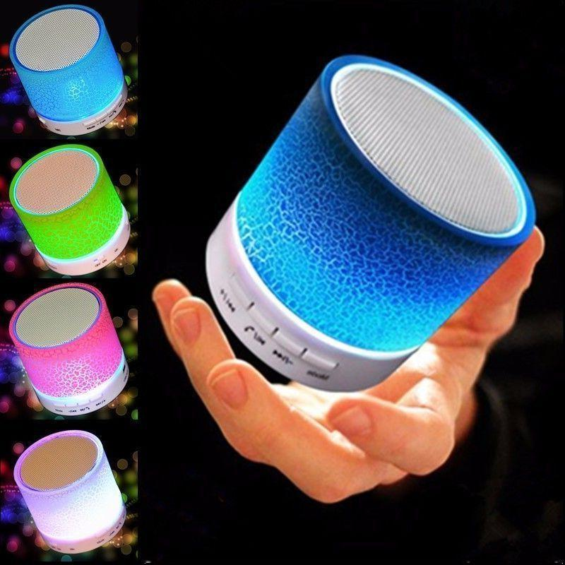 Luminous Lamp Rechargeable Wireless Bluetooth Speaker Portab