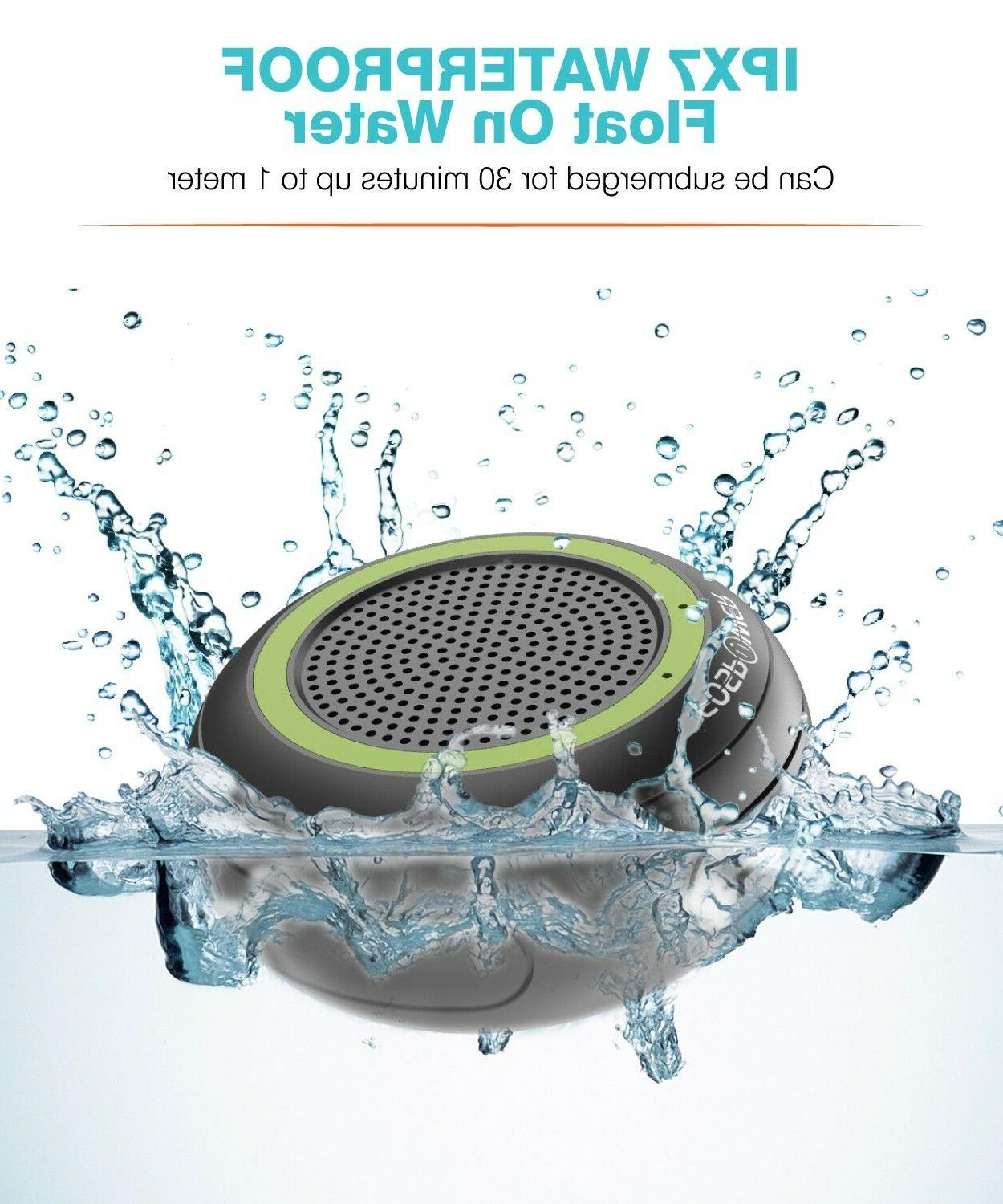 IP67 Bluetooth + Micro Rechargeable LED Speaker