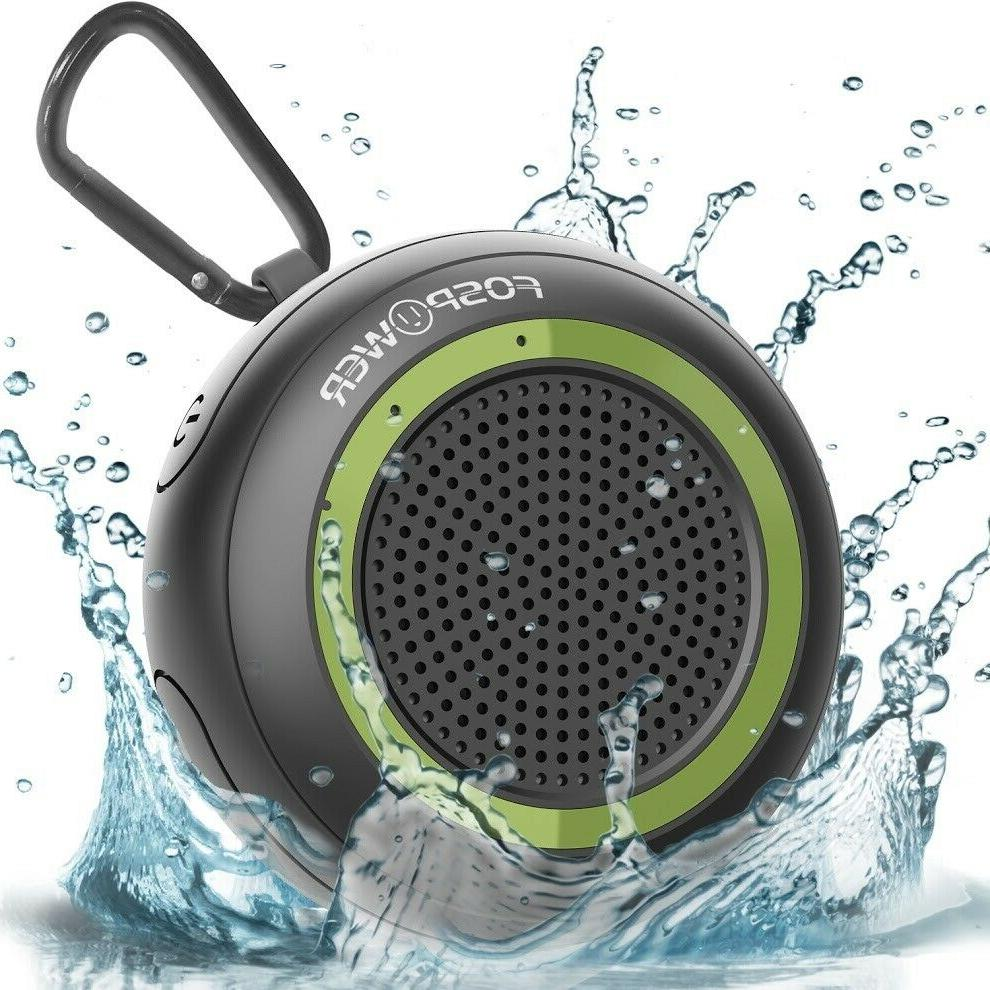 rechargeable wireless bluetooth portable speaker bass aux