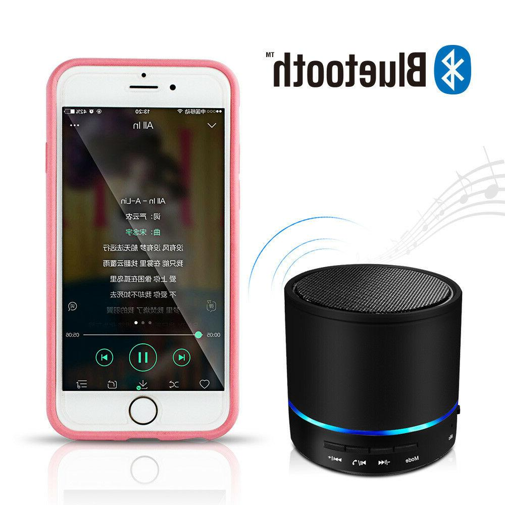 Rechargeable Wireless Portable Black