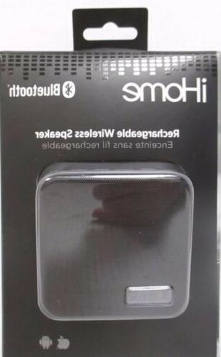 Ihome Rechargeable Wireless Speaker