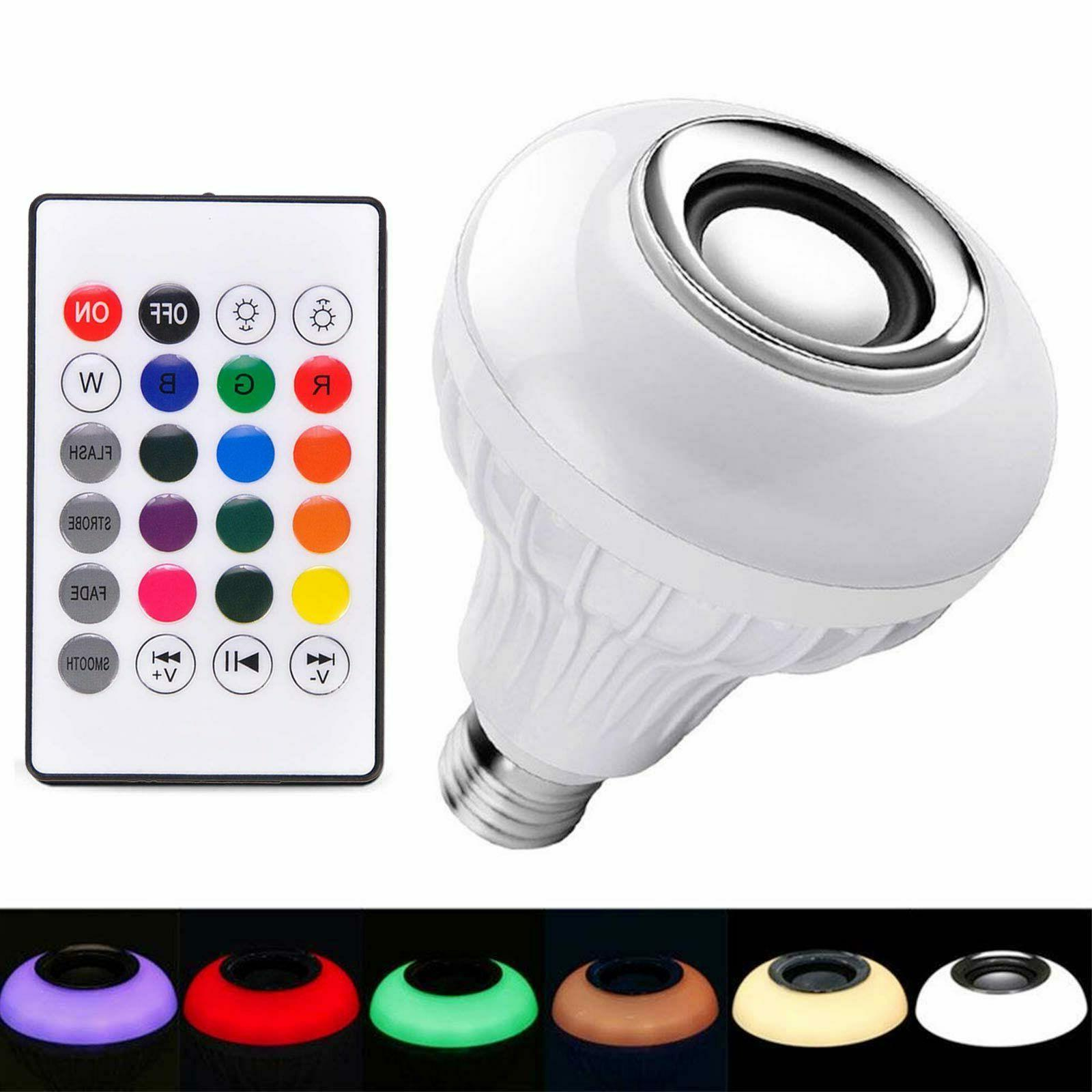 RGB LED Speaker 12W Music Playing Remote