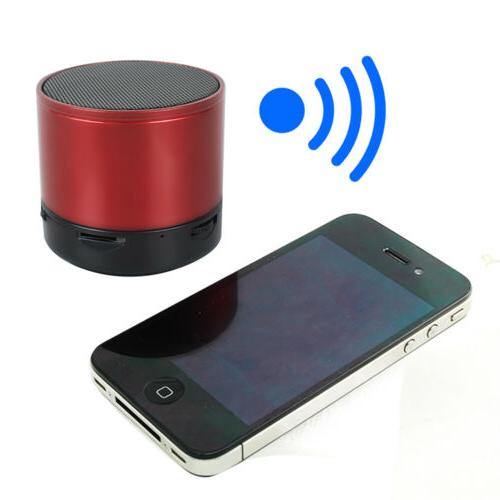 Small Wireless Bluetooth Handfree Mic Stereo Super Bass Spea
