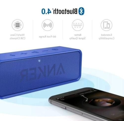 soundcore bluetooth speaker with 24 hour playtime