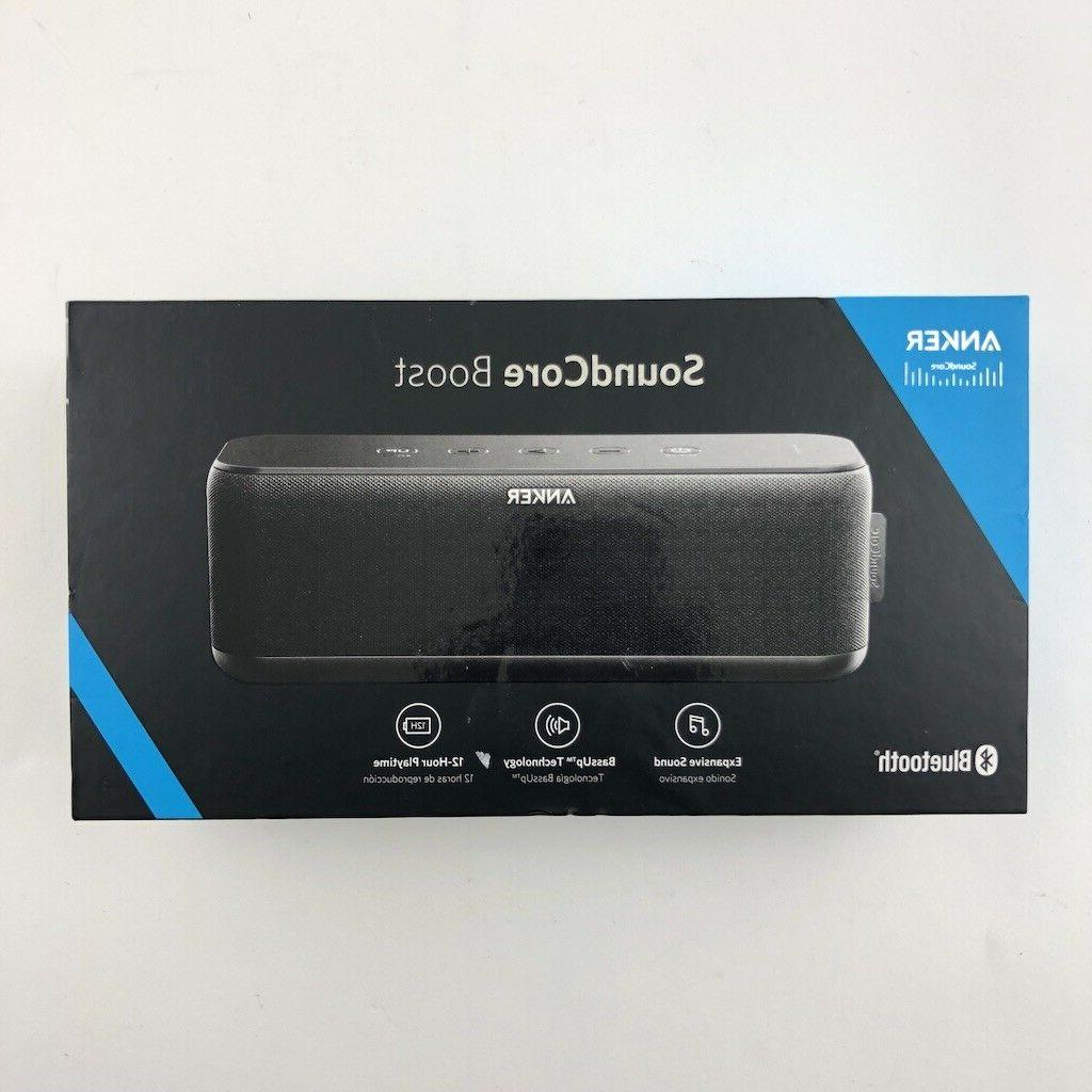 soundcore boost wireless bluetooth speaker 12 hr