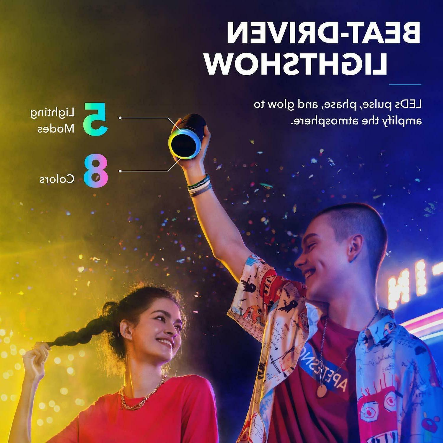 Anker Mini Bluetooth Speaker Outdoor Party Show