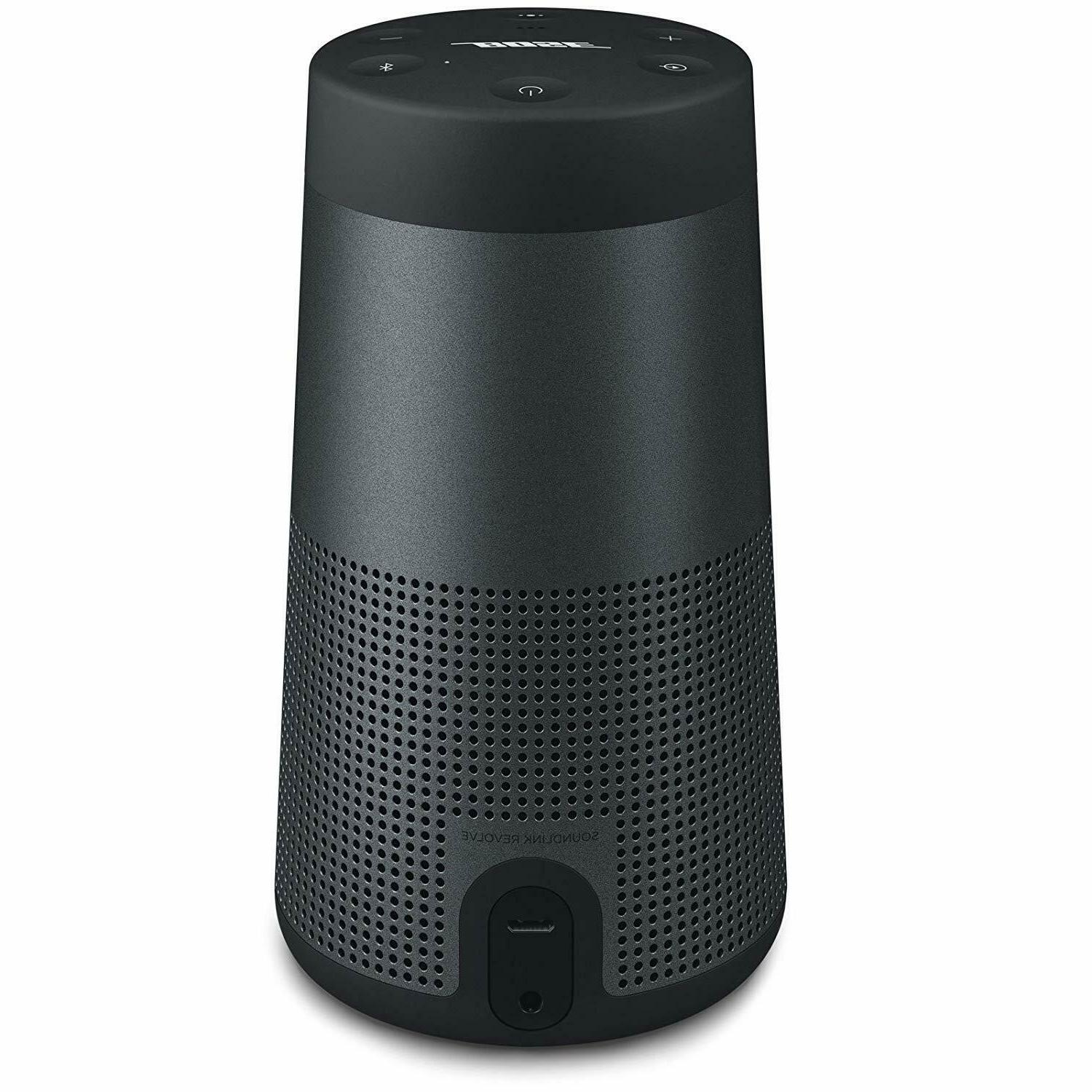 Bose SoundLink Revolve Portable Bluetooth Speaker - 360 Wire