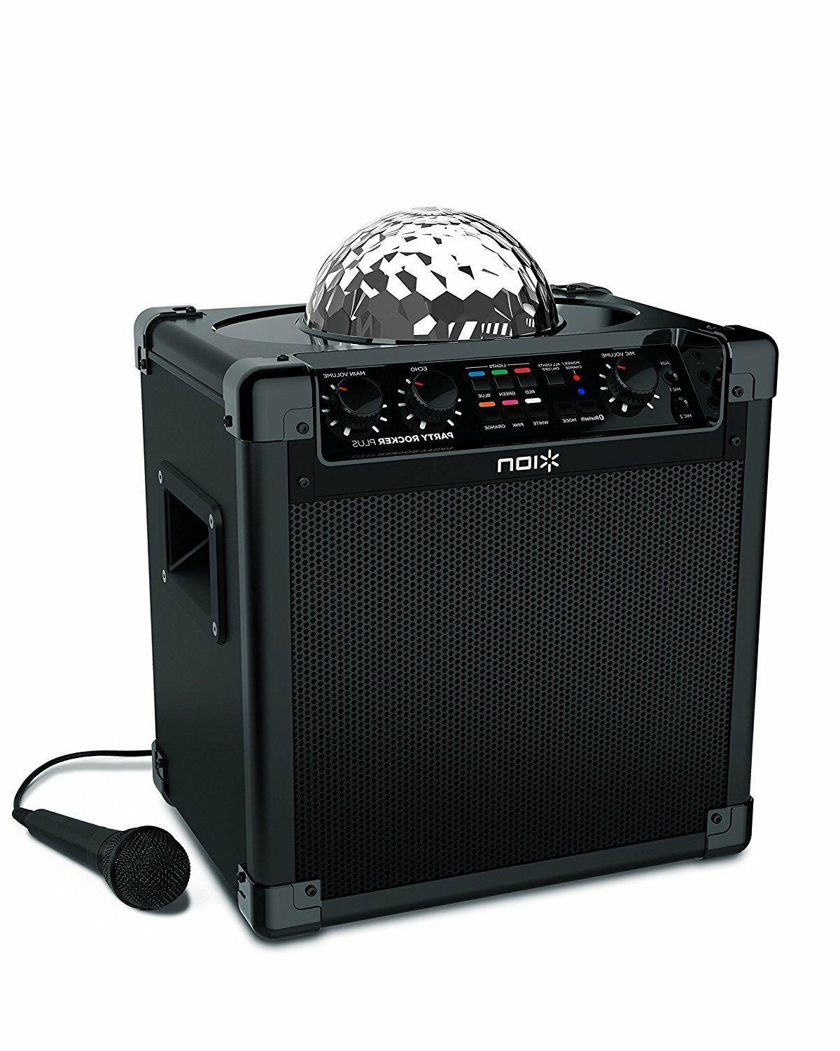 ION Wireless Party Mic And Cable Light