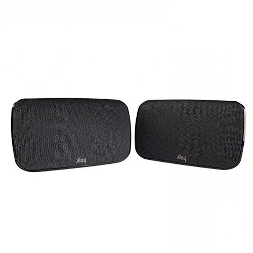 Polk Wireless Speakers for Magnify Max Bar System, Pair, Black