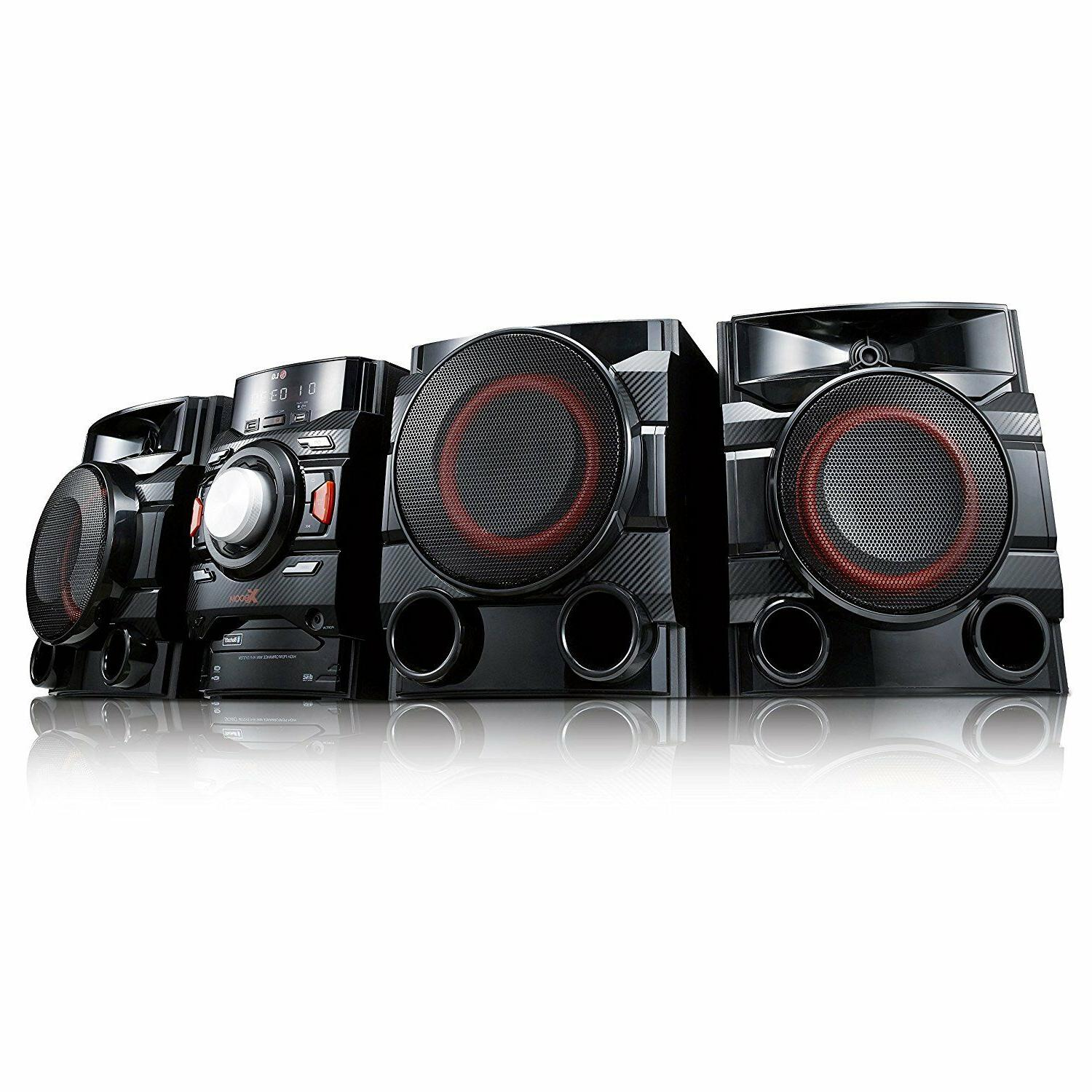 Stereo System Kit Home Theater Shelf Speakers 700W 2.1 Chann