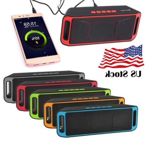 Portable Wireless Bluetooth Speaker Rechargeable with Call,F
