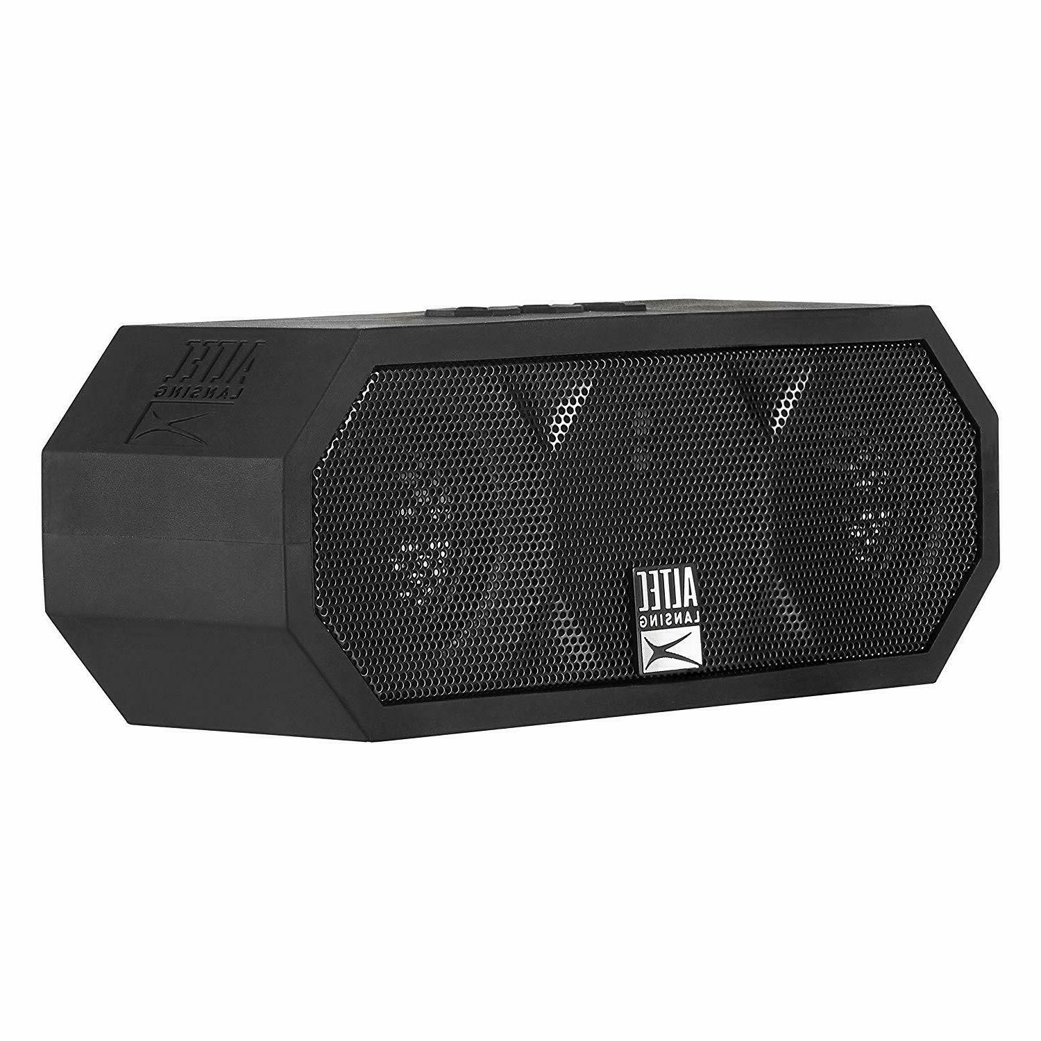 Altec Lansing The Jacket H2O 3 Rugged Bluetooth Speaker - bl