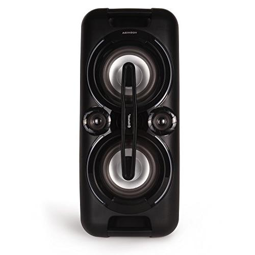 Toshiba TY-ASC60 Rechargeable Bluetooth Audio Streaming Party Speaker System