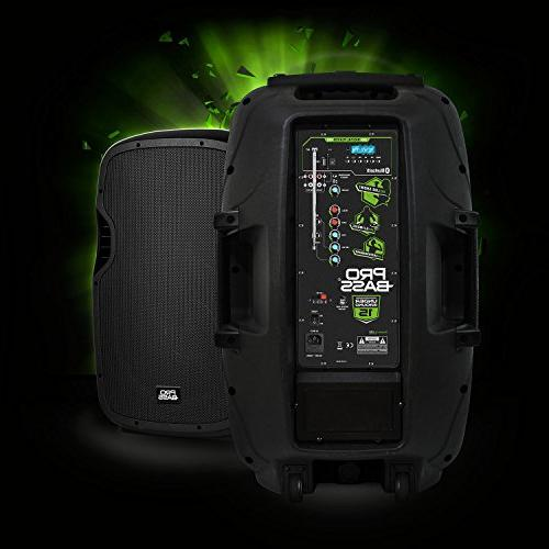 Portable Battery Powered Loudspeaker, 1600W, MP3 Player