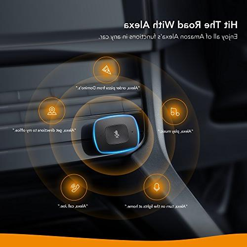 Roav VIVA Alexa-Enabled 2-Port USB Charger in-Car Initiated Streaming. Android and Devices
