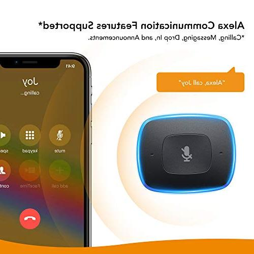 Roav VIVA by Alexa-Enabled Charger Initiated Calling, Music Streaming. Compatible and Smart Devices