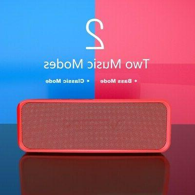 VTIN Portable Bluetooth Speaker with Extra Bass and Classic