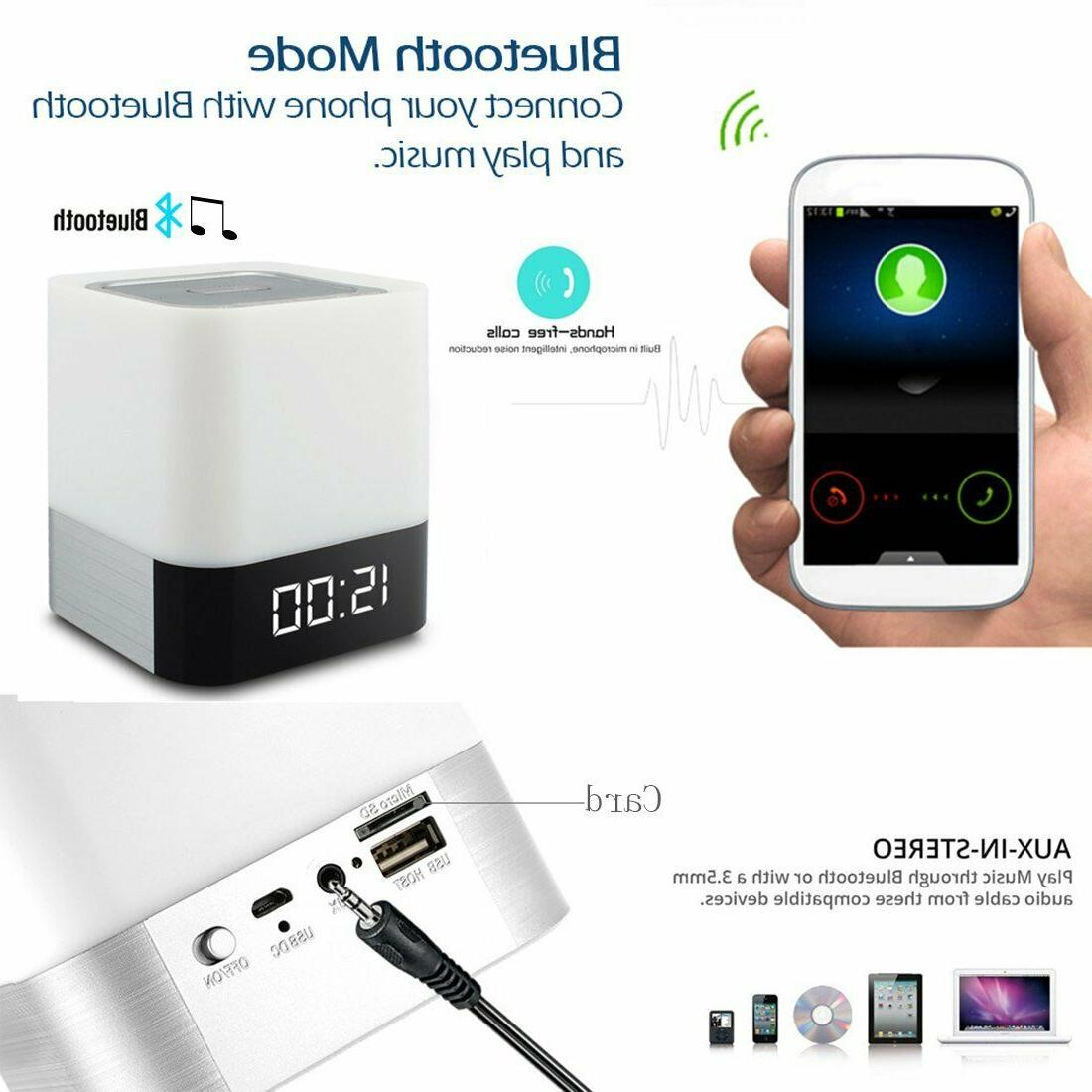 Warm Light Changing Wireless BLUETOOTH For Party Bedroom Outdoor