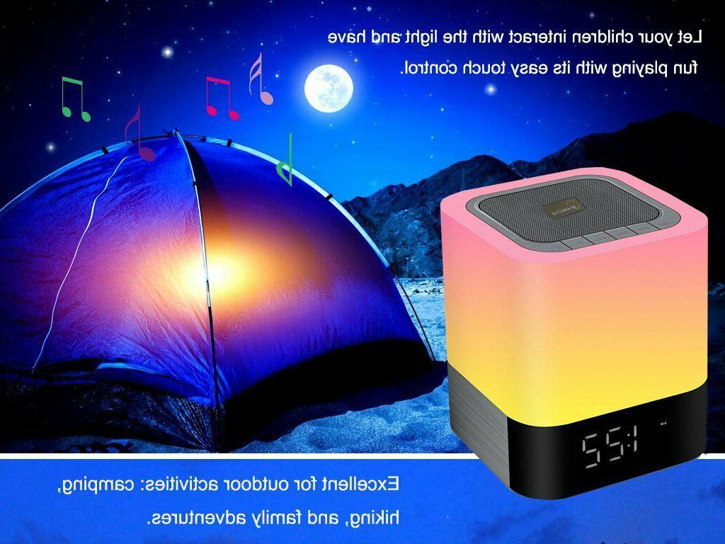 Warm Light Wireless BLUETOOTH SPEAKER Party Outdoor