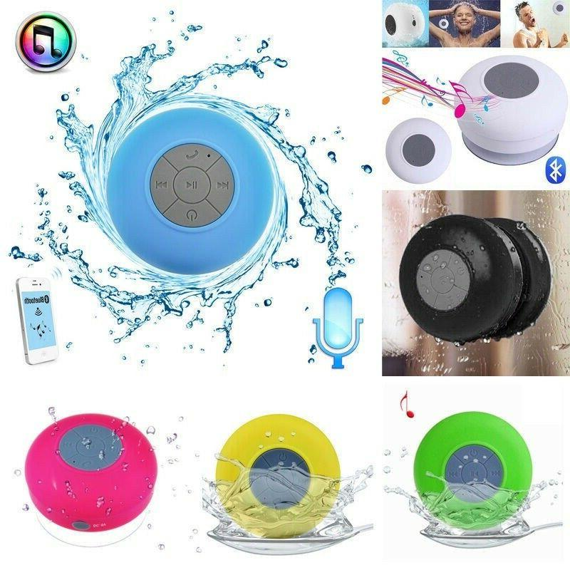 waterproof bluetooth wireless shower speaker handsfree music