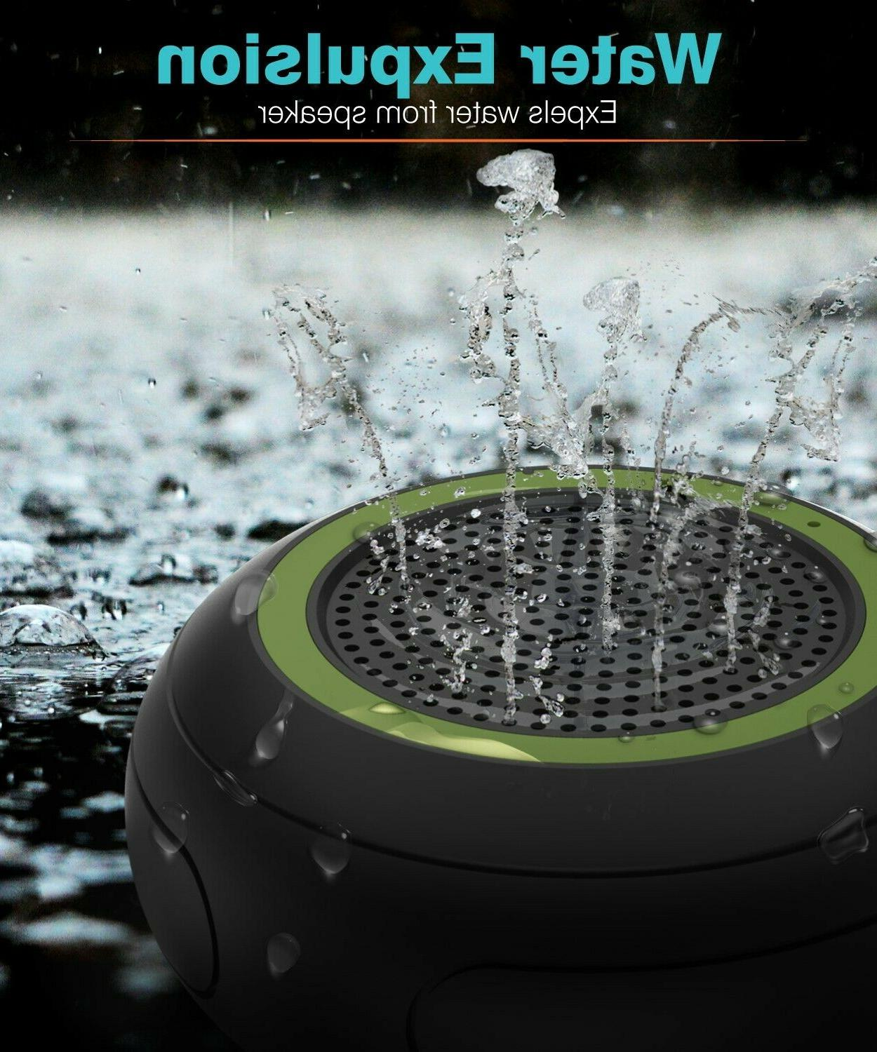 TWS Portable Bluetooth Stereo Shower Loud