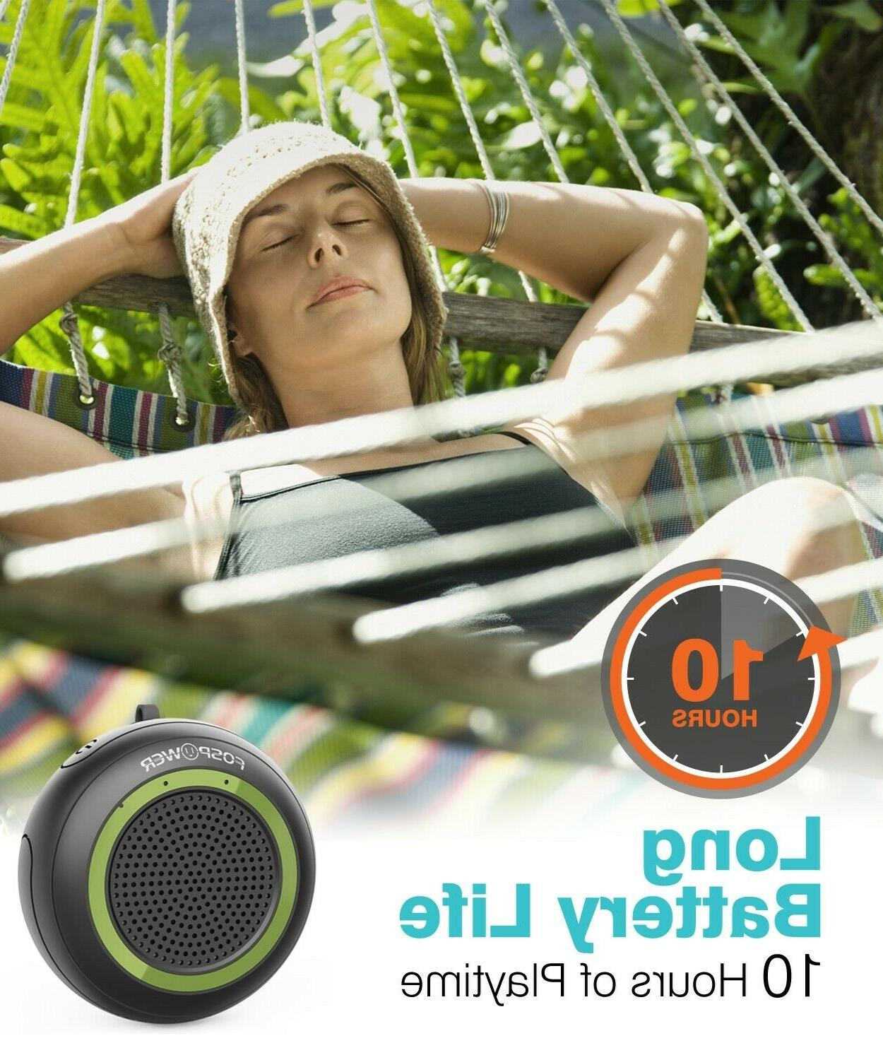 TWS Portable Bluetooth Stereo Outdoor Shower Loud