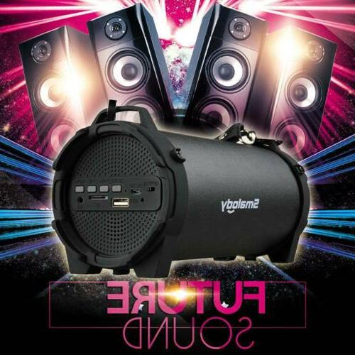subwoofer portable bluetooth speaker super bass stereo