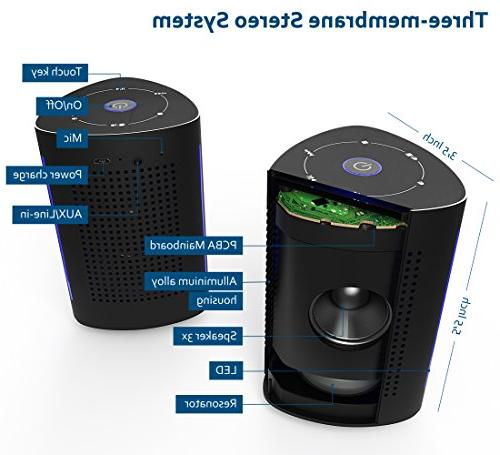 Wireless 36 Portable Enhanced - Extra Vibrating Speaker for Computer, Android