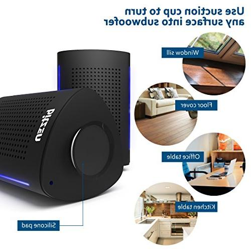Wireless Bluetooth Laptop 36 Watts Portable with Enhanced Bass Extra Bass for
