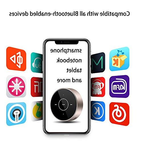 Wireless Mini Portable with Touch Bass,HD iPhone/iPad/Tablet/Laptop
