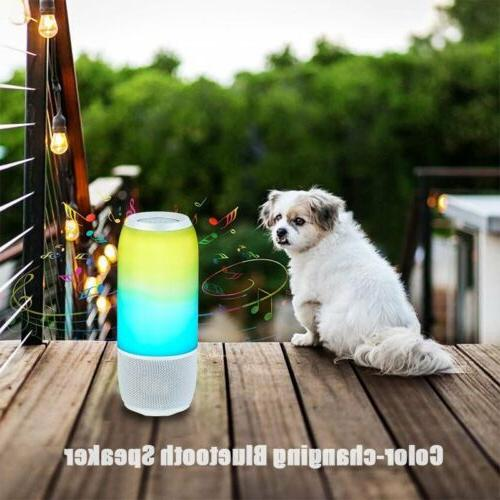 Wireless Speaker Color-changing Portable Stereo Waterproof