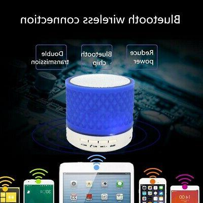 Wireless bluetooth Speaker Subwoofer Mini Stereo Radio US