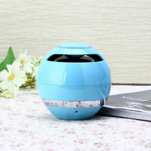 Wireless Bluetooth Subwoofer Mini Portable Ball For iPhone