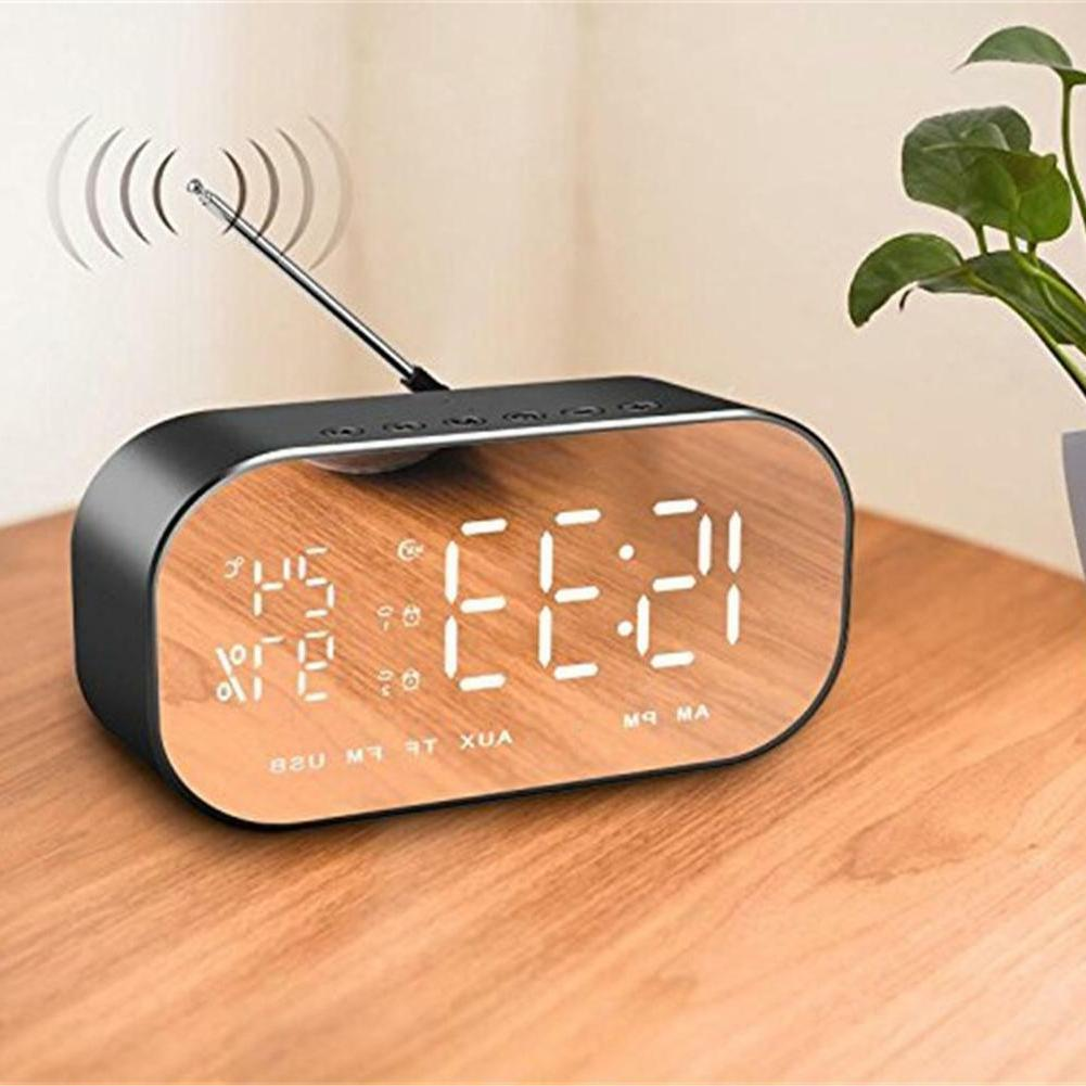 Wireless LCD Display FM Radio TF USB